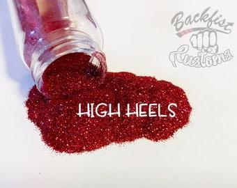 HIGH HEELS     Opaque Fine Glitter, Solvent Resistant