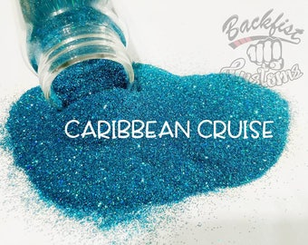 CARIBBEAN CRUISE || Opaque Fine Glitter, Solvent Resistant