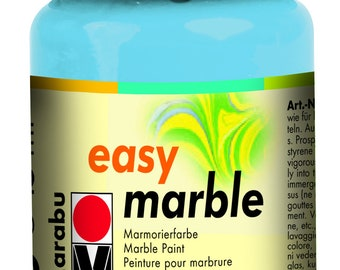 Light Blue || MARABU Easy MARBLE PAINT