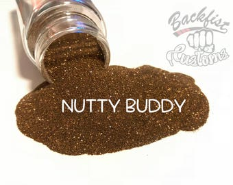 NUTTY BUDDY    Opaque Micro Fine Glitter, Solvent Resistant
