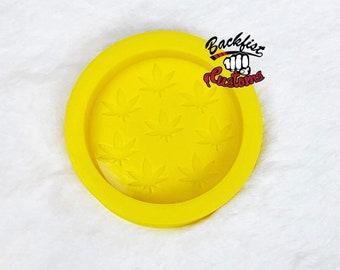 MULTI MARIJUANA LEAF Ashtray Mold || 1 Silicone mold
