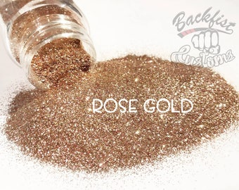 ROSE GOLD  || Opaque Fine Glitter, Solvent Resistant