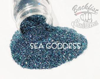 SEA GODDESS  || Opaque Fine Glitter, Solvent Resistant