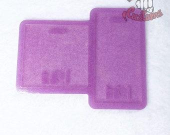 CUSTOM RT Medical Badge Backing 3in x 3in, 2.25in x 4.25in