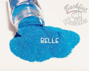 BELLE    Pearlescent Fine Glitter, Solvent Resistant