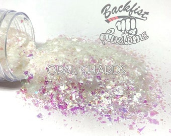 OPAL SHARDS     Chunky Mix Holographic Broken Shards of Glitter