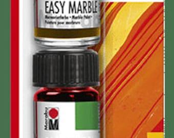 SUNRISE TRIAL Set || Marabu Easy Marble