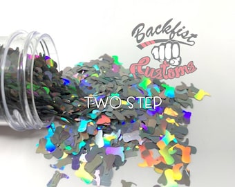 TWO STEP    Cowboy Boot Shaped Glitter, Solvent Resistant