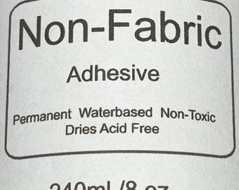 Non-Fabric Glitter Adhesive 8oz  - Shipping may be delayed due to cold weather