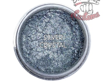 Silver Crystal Mica Powder  || 5 gram by weight
