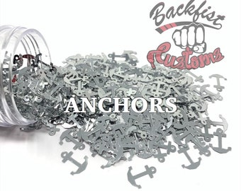 ANCHORS    Boat/ Pirate/ Anchor Shaped Glitter