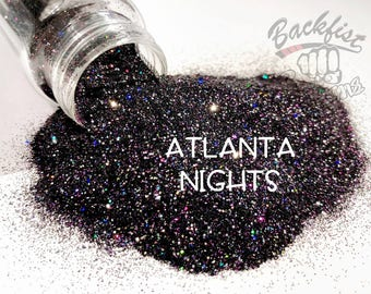 ATLANTA NIGHTS || Opaque Fine Glitter, Solvent Resistant