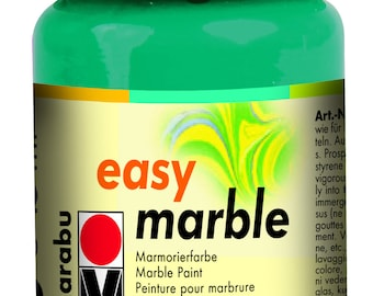 Turquoise || MARABU Easy MARBLE PAINT