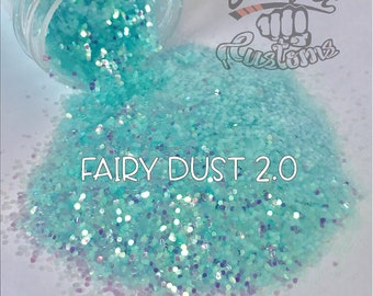 FAIRY DUST 2.0    Solvent Resistant, Chunky Opal Glitter