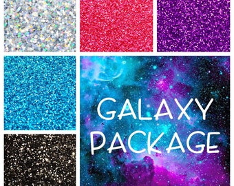 Galaxy Themed Glitter Package