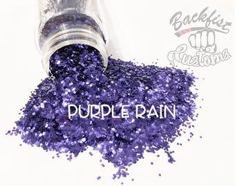 PURPLE RAIN    Opaque Chunky Glitter, Solvent Resistant