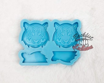 Halves    TIGER STRAW 2IN IN X 1.75IN Topper    Silicone mold