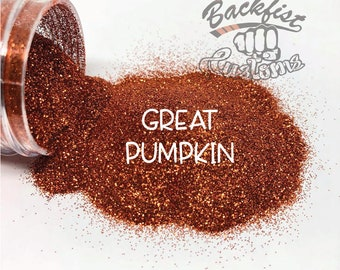 GREAT PUMPKIN ||  Fine Glitter, Solvent Resistant