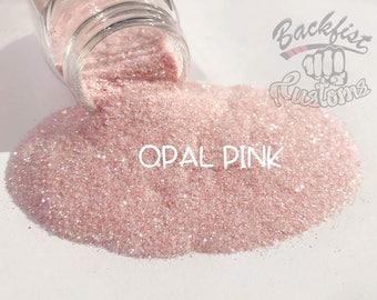OPAL PINK  || Transparent Fine Glitter, Solvent Resistant