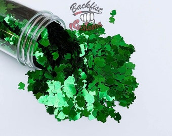 GREEN AC LEAVES ||  Special Leaf Shaped Glitter