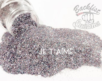 JE T'AIME     Opaque Fine Glitter, Solvent Resistant