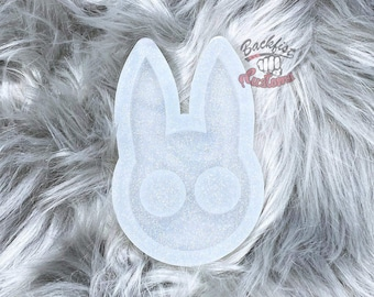 CUSTOM Rabbit Defense Mold 2.25in x 3.5in  for novelty and decoration purposes only