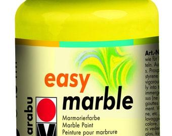 Lemon || MARABU Easy MARBLE PAINT
