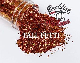 FALL FETTI || Fall colored  mixed glitter