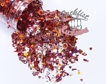 Romeo 2oz  || Mixed Glitter of different colors and sizes