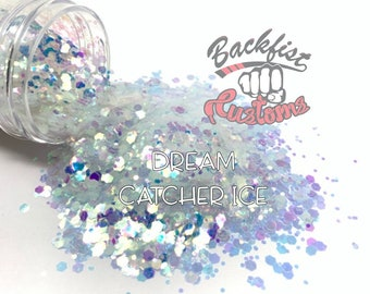 DREAM CATCHER ICE  || Solvent Resistant, Chunky Mix Glitter