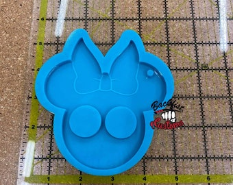CUSTOM MRS MOUSE Head Self Defense mold ( Novelty )  || 4in x 4.25in 7oz for novelty and decorative purposes only