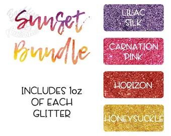 Sunset Themed Glitter Package
