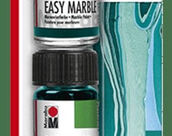 DEEP SEA TRIAL Set || Marabu Easy Marble