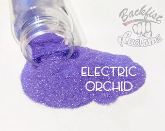 ELECTRIC ORCHID    Neon, Transparent Fine Glitter, Solvent Resistant