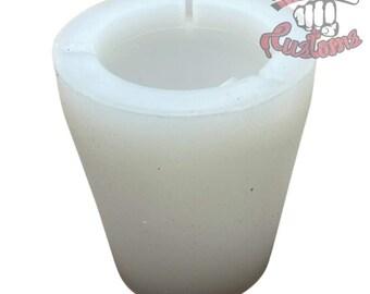 Cup holder cigarette ashtray    Silicone mold