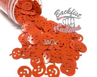 JACK    PUMPKIN Shaped Glitter