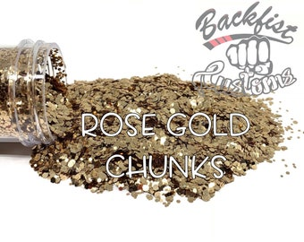 ROSE GOLD CHUNKS || Chunky Mix, Solvent Resistant