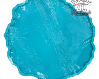 CUSTOM Super Large Geode Mold 1/2in thick 22in x 22in x .5in approximate  || Makes 1/2in Geode Mold