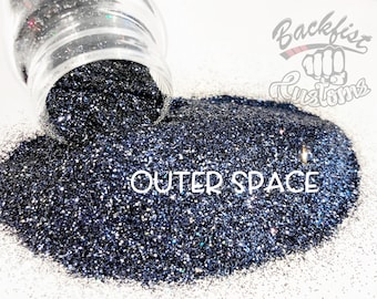 OUTER SPACE || Opaque Fine Glitter, Solvent Resistant