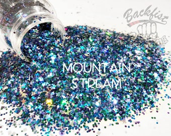 MOUNTAIN STREAM || Opaque Chunky Mix, Solvent Resistant