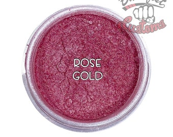 Rose Gold Mica Powder  || 5 gram by weight