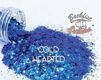 COLD HEARTED || color shifting Glitter