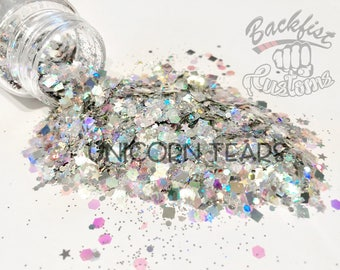 UNICORN TEARS || Chunky Mix, Solvent Resistant