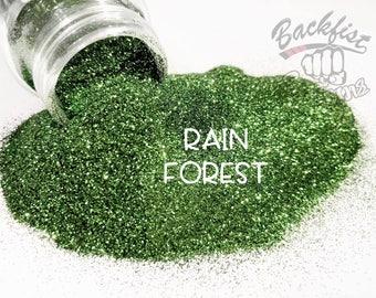 RAIN FOREST || Opaque Fine Glitter, Solvent Resistant