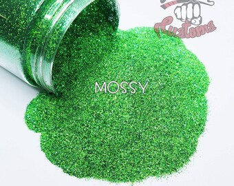 MOSSY  || Opaque Fine Glitter, Solvent Resistant