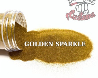 GOLDEN SPARKLE || Holographic EXTRA Fine Glitter, Perfect for Epoxy