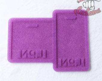 CUSTOM LPN Medical Badge Backing 3in x 3in, 2.25in x 4.25in
