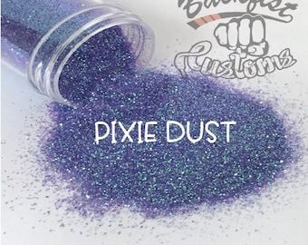 PIXIE DUST    Transparent  Fine Glitter, Solvent Resistant