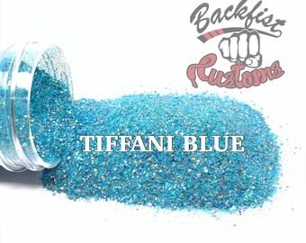 TIFFANI BLUE     Exclusive Fine Glitter, Solvent Resistant
