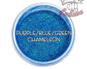 Purple/Blue/Green Chameleon Mica Powder  || 5 gram by weight